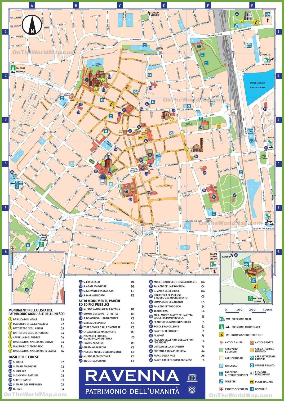 milan italy attractions map