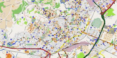 Map of milan bergamo