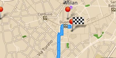 Map of milan offline